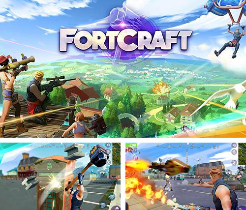 In addition to the game Hello neighbor for Android phones and tablets, you can also download Fortcraft for free.
