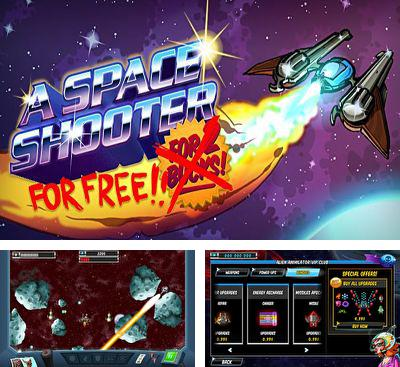 In addition to the game Ninja Wizard for Android phones and tablets, you can also download A Space Shooter for free.