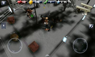 Screenshots of the A Thug In Time for Android tablet, phone.