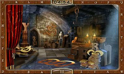 Screenshots von ABC Mysteriez Hidden Letters für Android-Tablet, Smartphone.