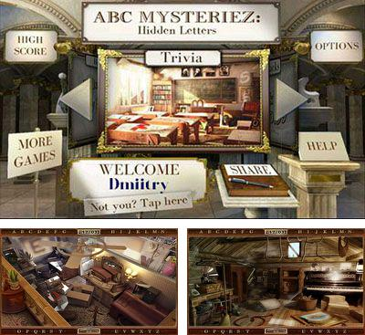 In addition to the game CheeseMan for Android phones and tablets, you can also download ABC Mysteriez Hidden Letters for free.