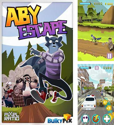In addition to the game Motoheroz for Android phones and tablets, you can also download Aby Escape for free.