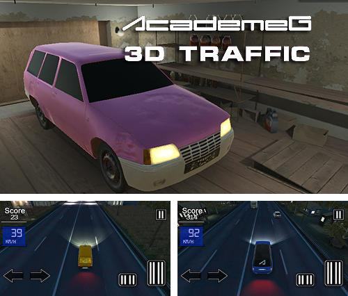 In addition to the game Drift hunters for Android phones and tablets, you can also download Academeg 3D traffic for free.
