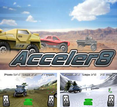 In addition to the game Planet Attack Runner for Android phones and tablets, you can also download Acceler8 for free.