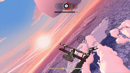 Screenshots von Ace academy: Skies of fury für Android-Tablet, Smartphone.