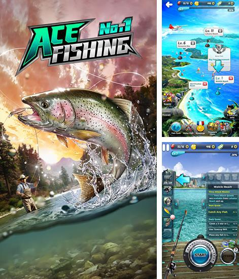 In addition to the game Fishing Kings for Android phones and tablets, you can also download Ace fishing No.1: Wild catch for free.