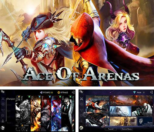 In addition to the game Eternal arena for Android phones and tablets, you can also download Ace of arenas for free.
