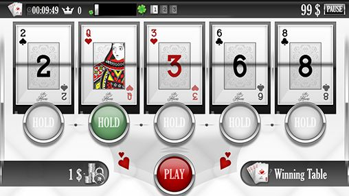 Juega a Ace of hearts: Casino poker - video poker para Android. Descarga gratuita del juego As de Corazones: Poker de casino. Poker en video.