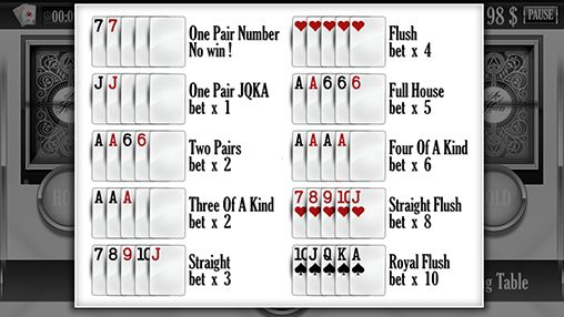 Capturas de pantalla de Ace of hearts: Casino poker - video poker para tabletas y teléfonos Android.