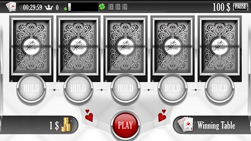 Écrans de Ace of hearts: Casino poker - video poker pour tablette et téléphone Android.