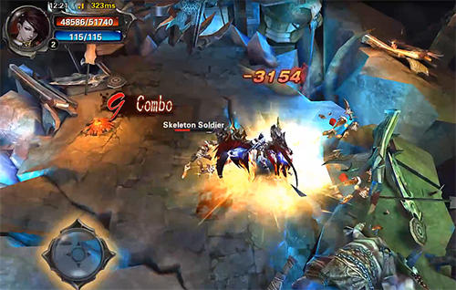 Screenshots von KO fighter: The hottest 3D fighting RPG für Android-Tablet, Smartphone.