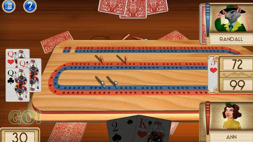 Aces cribbage screenshot 1