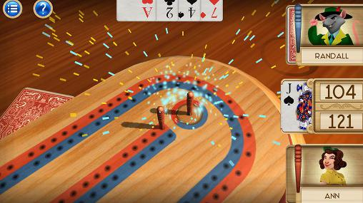 Aces cribbage screenshot 2