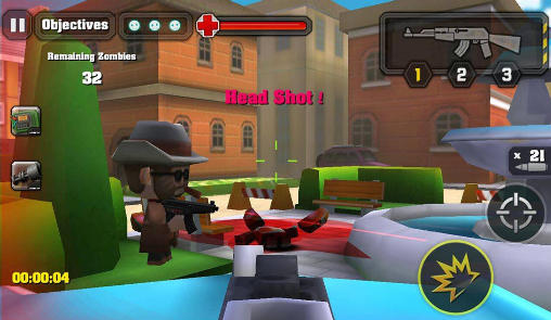 Action of mayday: Zombie world screenshot 2