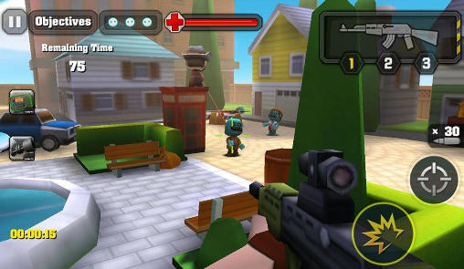 Screenshots von Action of mayday: Zombie world für Android-Tablet, Smartphone.