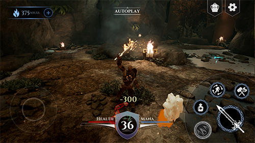 Action RPG game sample screenshot 1