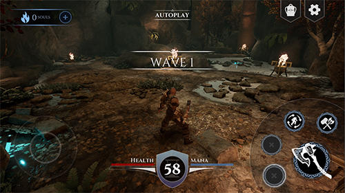 Action RPG game sample screenshot 3