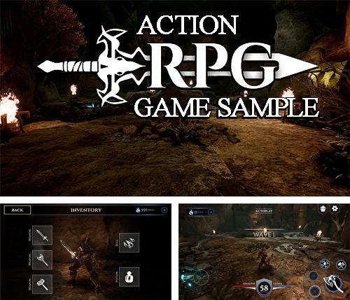 In addition to the game Action RPG game sample for Android, you can download other free Android games for LG G Flex.