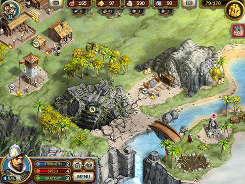 Screenshots von Adelantado trilogy: Book three für Android-Tablet, Smartphone.