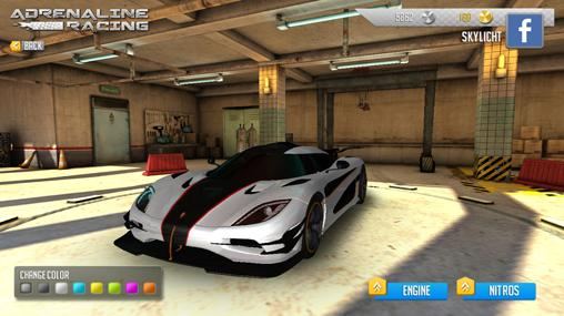Adrenaline racing: Hypercars screenshot 2