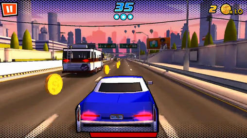Adrenaline rush: Miami drive screenshot 2