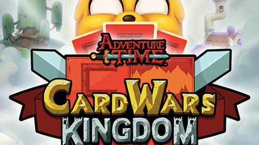 adventure time card wars kingdom poster - Android Time Card