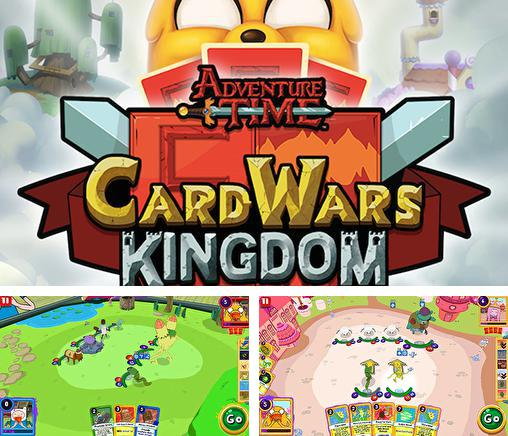 In addition to the game Soundtrack attack: Steven universe for Android phones and tablets, you can also download Adventure time: Card wars kingdom for free.