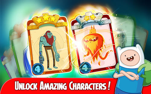 Download Adventure time: Champions and challengers Android free game.