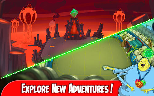Screenshots of the Adventure time: Champions and challengers for Android tablet, phone.