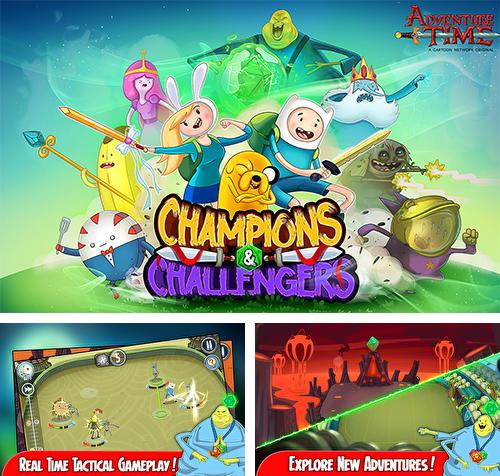 In addition to the game Adventure time: Puzzle quest for Android phones and tablets, you can also download Adventure time: Champions and challengers for free.
