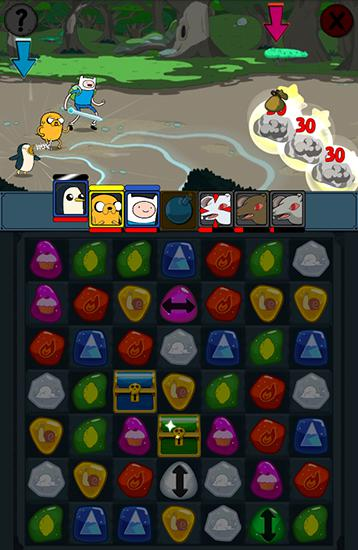 Download Adventure time: Puzzle quest Android free game.