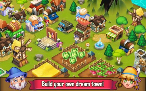 Screenshots von Adventure town für Android-Tablet, Smartphone.