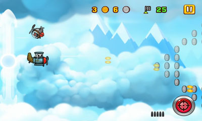 Screenshots von Adventures in the air für Android-Tablet, Smartphone.