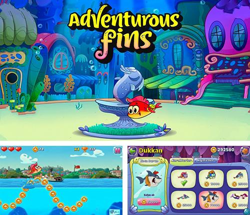 In addition to the game Tomcat pop: Bubble shooter for Android phones and tablets, you can also download Adventurous fins for free.