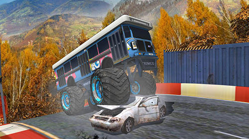 AEN city bus stunt arena 17 скриншот 2