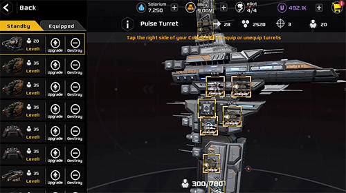 Aeon wars: Galactic conquest screenshot 5