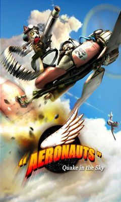 Aeronauts Quake in the Sky poster