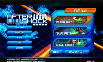 Aftershock screenshot 1