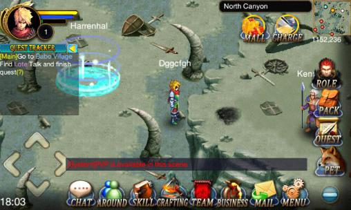 Screenshots von Dawn of the immortals für Android-Tablet, Smartphone.
