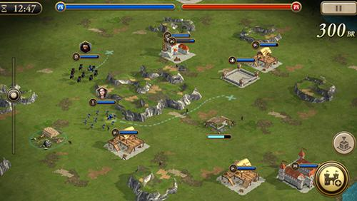 玩安卓版Age of empires: World domination。免费下载游戏。