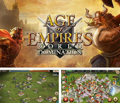 In addition to the game Age of Empire for Android phones and tablets, you can also download Age of empires: World domination for free.