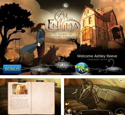 In addition to the game Atlantis 3 - The New World for Android phones and tablets, you can also download Age of Enigma for free.