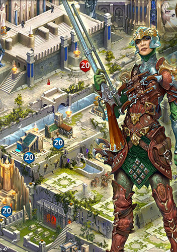 Screenshots von Age of phoenix: Wind of war für Android-Tablet, Smartphone.