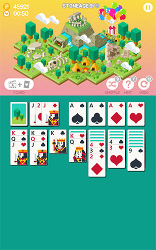 Jogue Age of solitaire: City building card game para Android. Jogo Age of solitaire: City building card game para download gratuito.