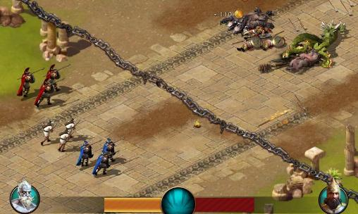 Screenshots von Age of Sparta für Android-Tablet, Smartphone.