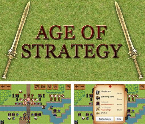 In addition to the game Tactics maiden for Android phones and tablets, you can also download Age of strategy for free.