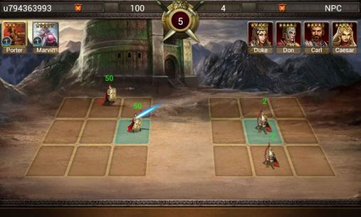Screenshots von Age of warring empire für Android-Tablet, Smartphone.