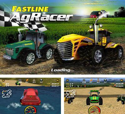 In addition to the game Tractor more farm driving for Android phones and tablets, you can also download AgRacer  for free.