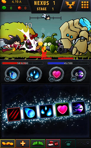 Screenshots von Ahri RPG: Escape the rift für Android-Tablet, Smartphone.