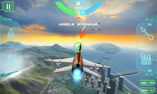 Screenshots von Nemesis: Air combat für Android-Tablet, Smartphone.